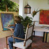 In Studio - Marie Michèle B. CARON | Luminis Poesis